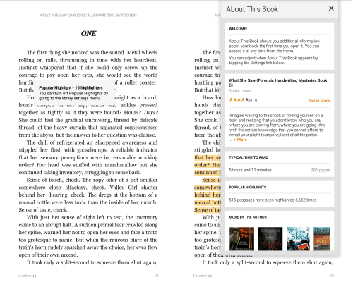 Kindle for Android v4.11 Adds Popular Highlights, WordWise, Book Introductions, And More Amazon Audiobook Kindle
