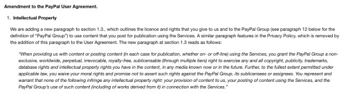 Paypal's Out to STEAL Creators' Copyrights, and Other Nonsense DeBunking Intellectual Property