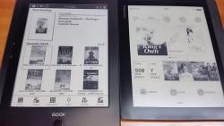 Onyx Boox i86ML vs Pocketbook InkPad (video) e-Reading Hardware
