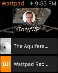 Wattpad Releases Amazingly Useful iWatch App Apple e-Reading Software Social Media Social reading