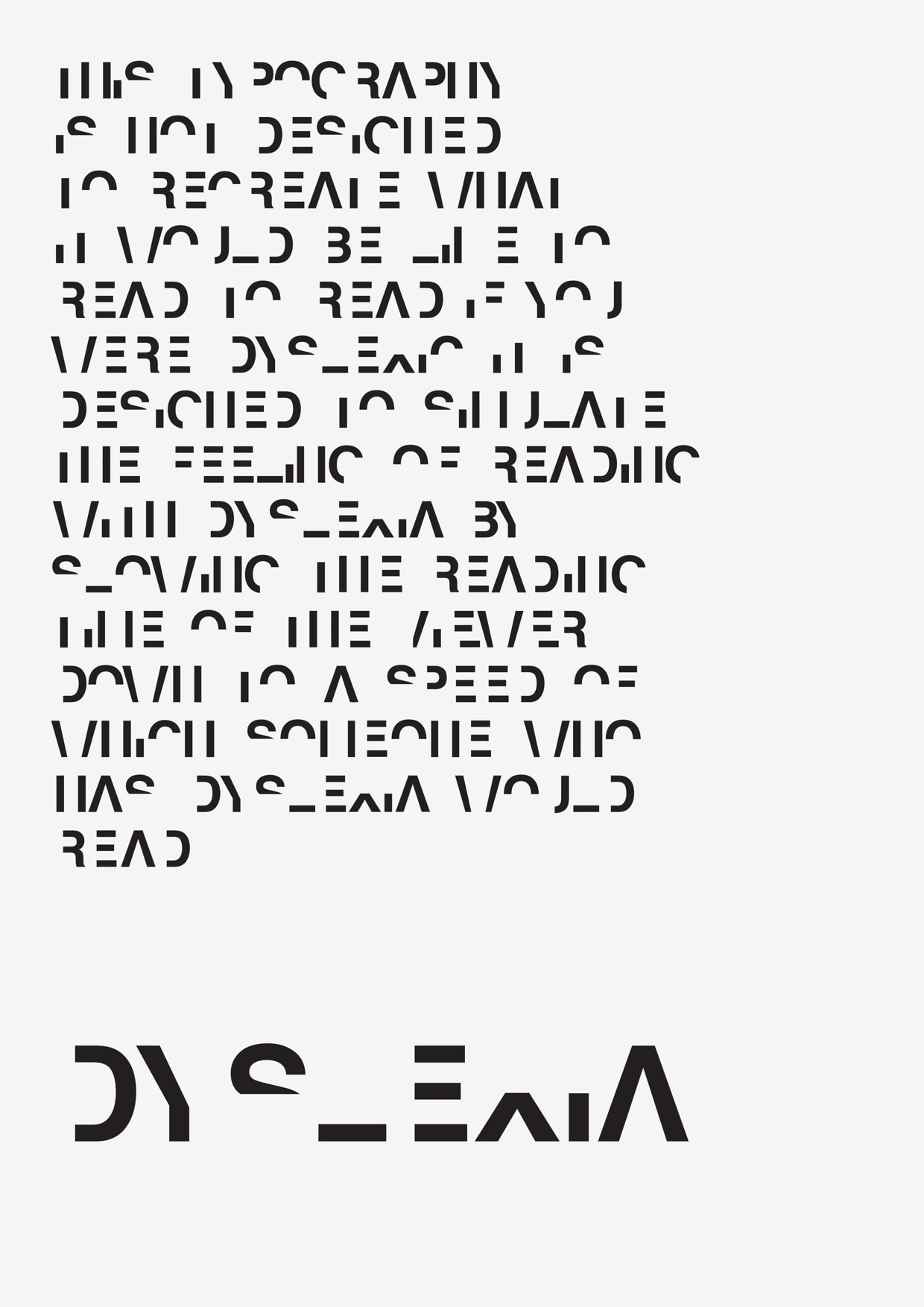Worksheet Reading For Dyslexia this typeface simulates reading with dyslexia the digital reader dyslexic font