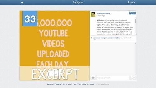 A Gimmick Does Not a Book Publishing Platform Make (Instagram) Publishing Social Media