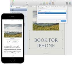 ibooks author iphone