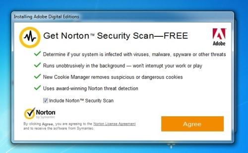 norton bloatware adobe digital editions