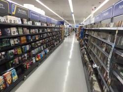 walmart book section