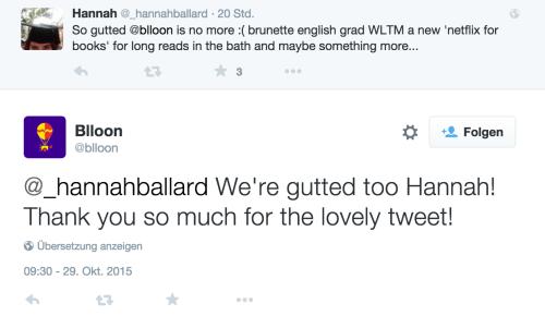 blloon closure tweet