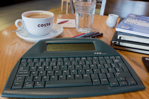 In Praise of the Alphasmart Neo Blast from the Past