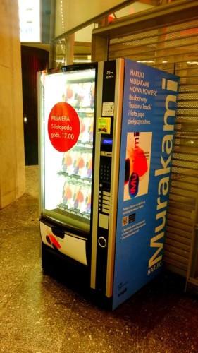 Haruki Murakami Novels (Briefly) Sold in Polish Vending Machines Retail