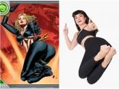 comic book poses