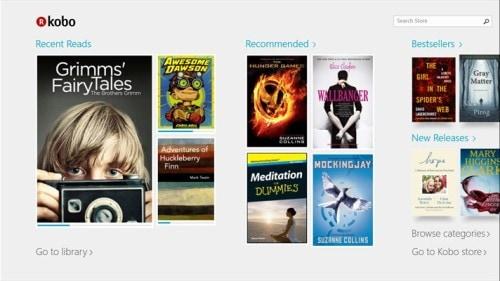 Kobo Releases a Universal Windows 10 App e-Reading Software Kobo