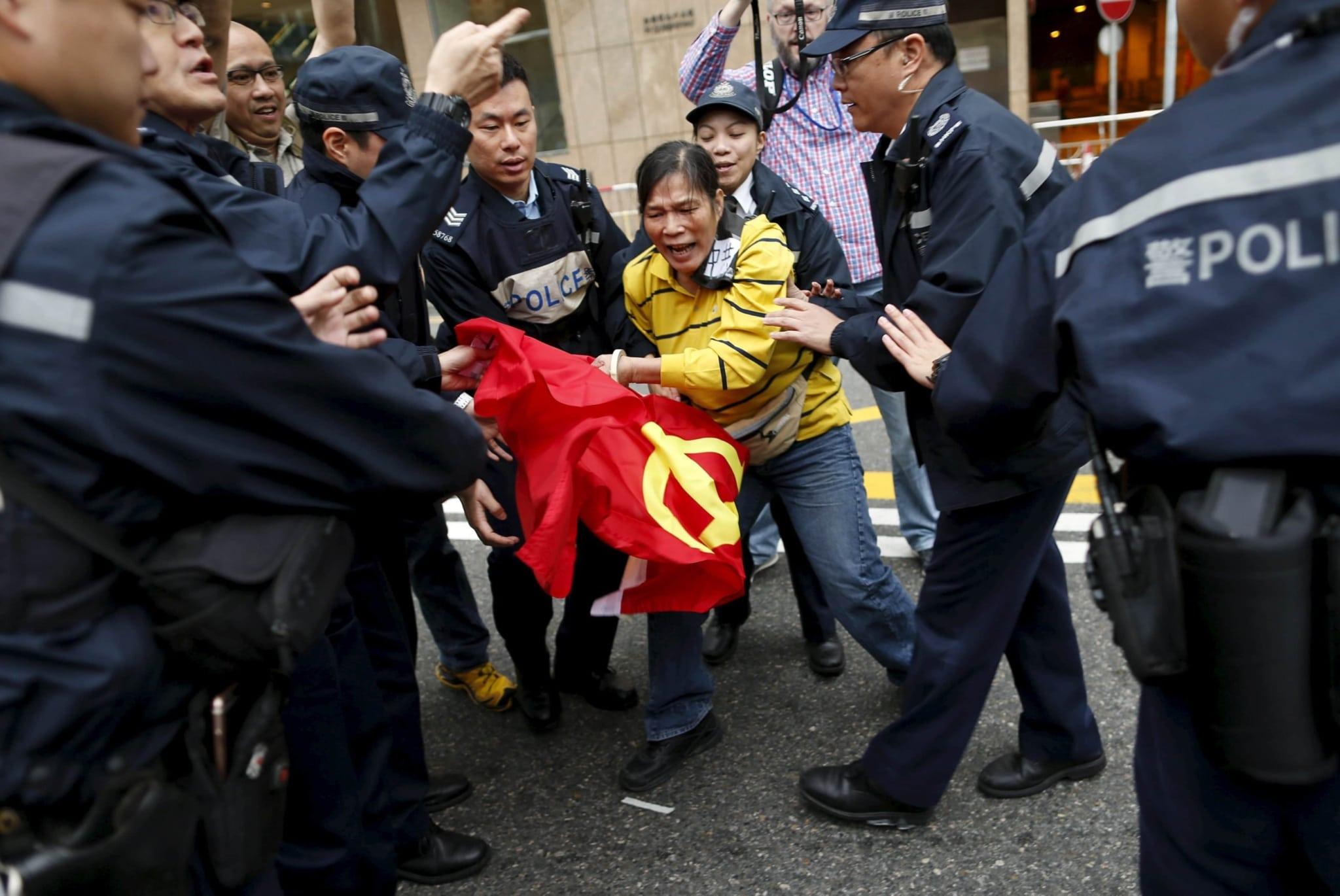 Handover of Hong Kong