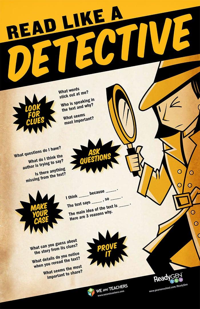read like a detective