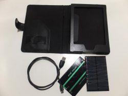 DIY Solar Case for the Kobo Aura H2O e-Reading Hardware