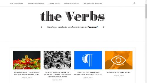 pronoun the verbs
