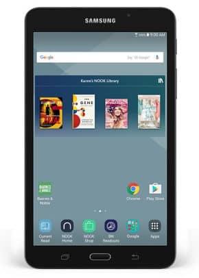 Barnes & Noble Rebrands Samsung Galaxy Tab A Nook 7.0 Android Tablet Barnes & Noble e-Reading Hardware