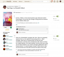 goodreads Share Kindle Notes Highlights