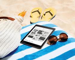 Kobo Aura One & Kindle Paperwhite: Frontlight Comparison e-Reading Hardware Kindle Kobo Reviews
