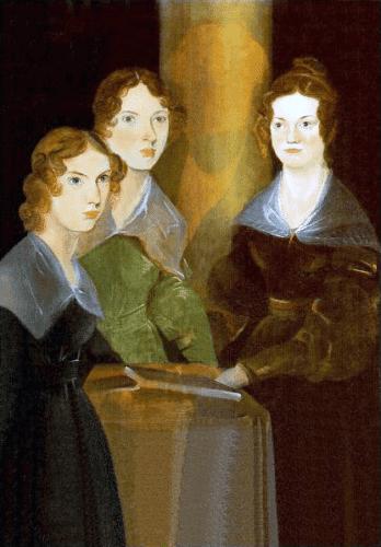 Painting of the 3 Brontë Sisters, by Branwell Brontë