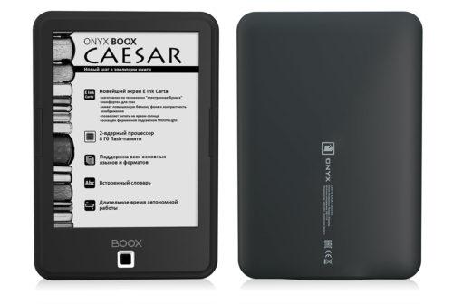 Onyx Boox Caesar - Android 4.2, Carta E-ink, $108 e-Reading Hardware