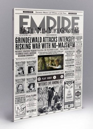 """Empire Magazine Has Harry Potter-Like """"Magical Beasts"""" Video Cover e-Reading Hardware"""