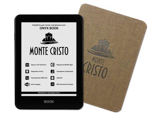 Onyx Boox Monte Cristo - Android, 300PPI Screen, $169 e-Reading Hardware