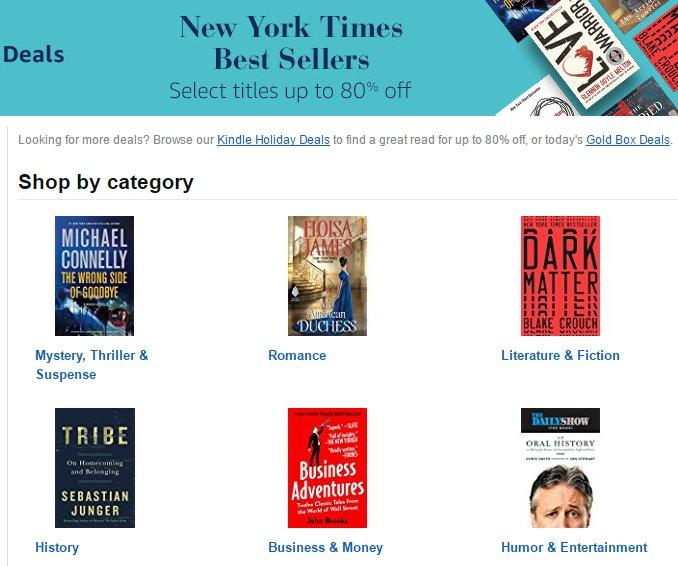 amazon kindle best seller list