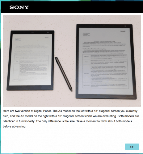 "Rumor Has it Sony Has a 10"" eReader in the Works e-Reading Hardware"