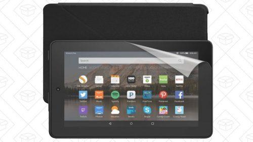Amazon Fire Tablet Essentials Bundle Now $30 Off e-Reading Hardware Fire