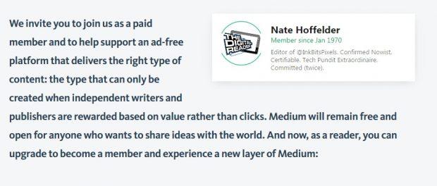 Medium Announces Its Subscription Plan at $5 Per Month Web Publishing