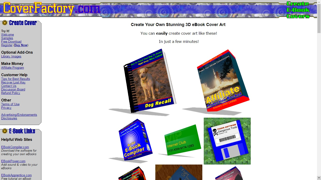 Book Cover Design Free Download Software ~ Sites for making a spectacular book cover the digital reader