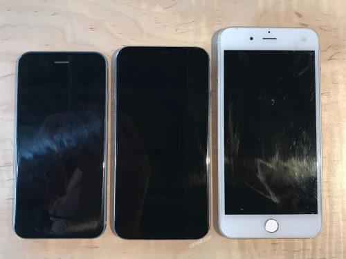iPhone 8 Leaks Hint at Rounded Edges, Thin bezel, No Fingerprint Sensor e-Reading Hardware iDevice