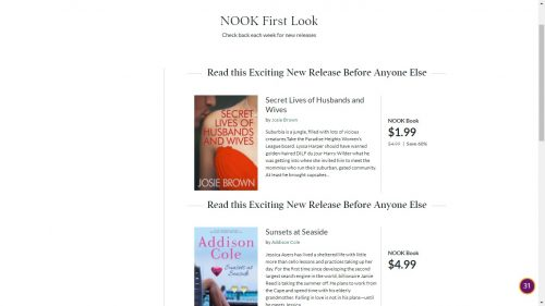 "B&N Now Pitching ""Nook First Look"" Promo Service to Indie Authors Barnes & Noble"