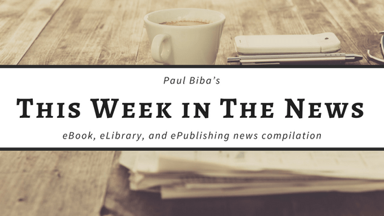 Paul Biba's eBook, eLibrary, eMuseum and ePublishing news compilation for week ending Friday, November 24 Link Post Morning Coffee