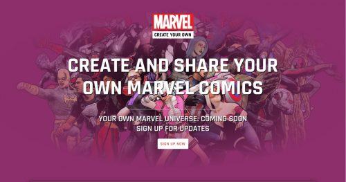 Marvel's New Fan-Made Comics Platform Comes with Terms That Would Ban Most Marvel Titles Comics & Digital Comics Self-Pub