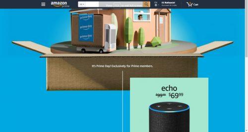 Amazon Website & Services Crash on Prime Day Amazon